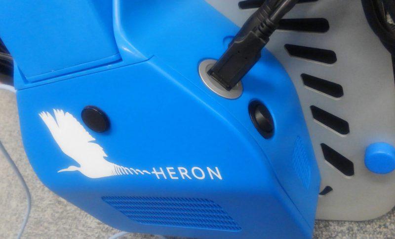 HERON Logo back